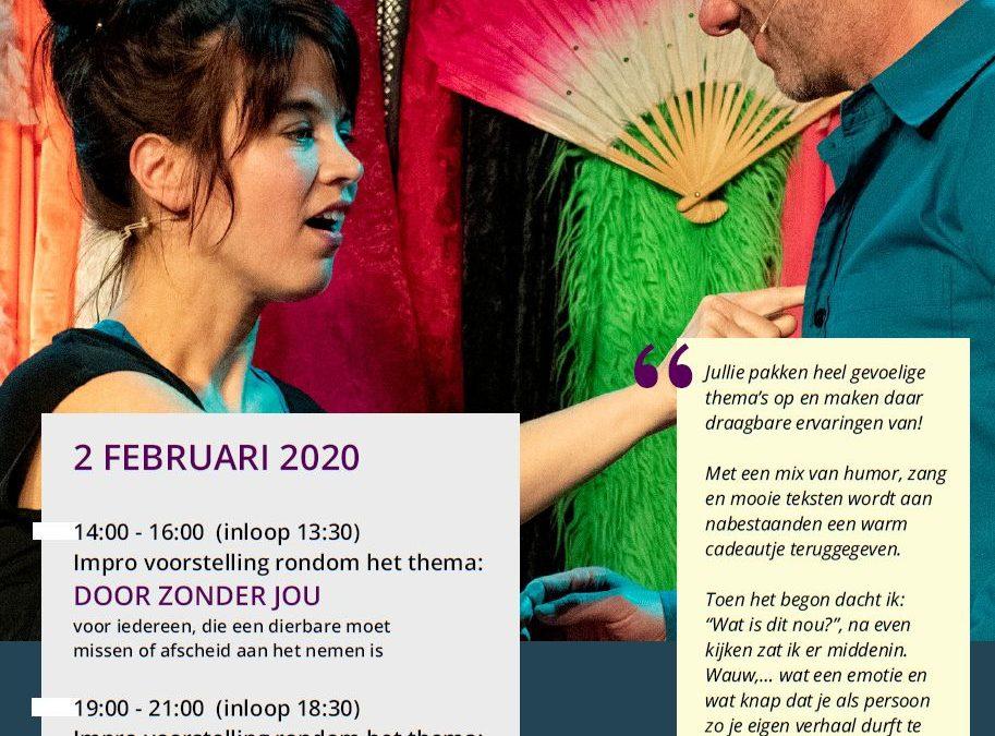 2 februari 2020: Theater Boven Water brengt verhalen over de dood tot leven